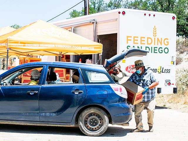 Feeding San Diego Pickup Location